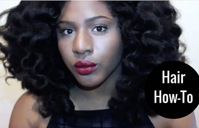 How To: Loose Waves on Natural Hair (4A-C)
