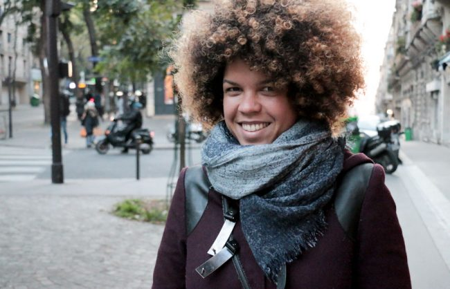 On the Street, Paris: Let Your Locks Shine