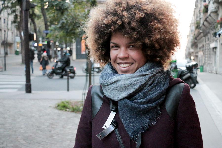 On the Street, Paris: Let Your Locks Shine
