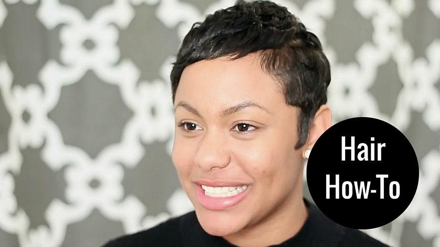 Get The Look: Styled Pixie Cut (feat. Stylist Aisha Ebony