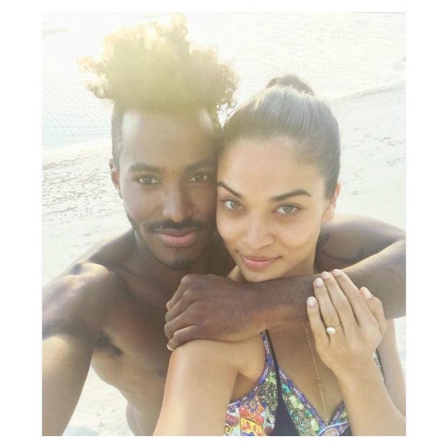 Grammin' New Years Eve Edition: Shanina Shaik is Engaged, Lupita N'yongo Welcomes 2016 in the Dominican Republic