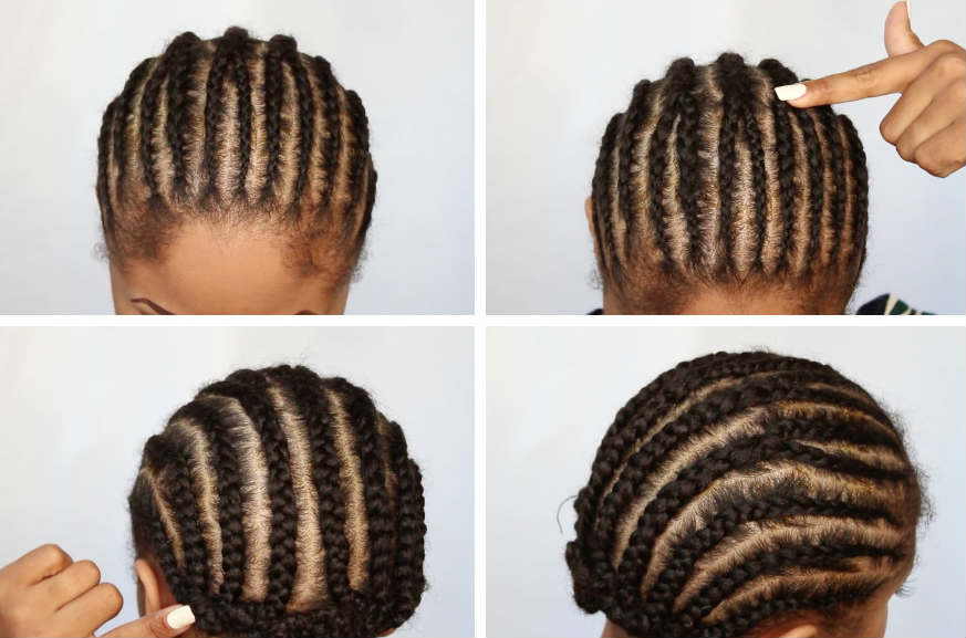 Crochet Box Braids Braid Pattern : crochet-braids-braiding-pattern-0