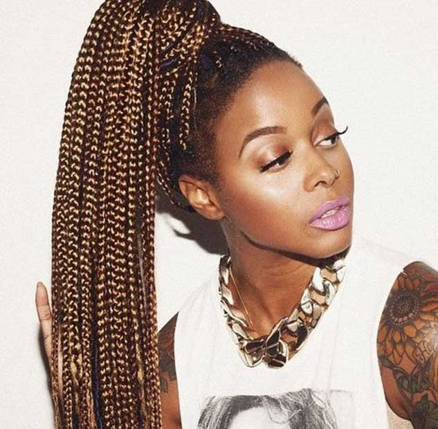 63 Box Braid Pictures That Ll Help You Choose Your Next Style Un Ruly