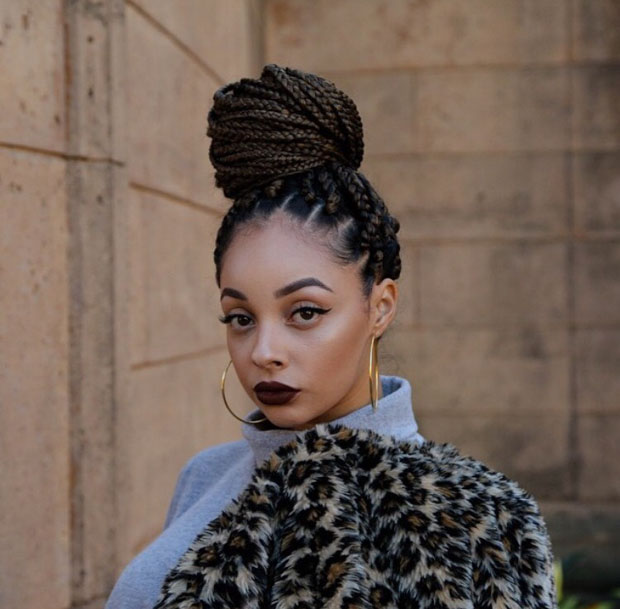63 Box Braid Pictures Thatll Help You Choose Your Next Style Un Ruly