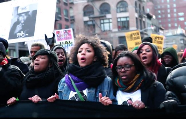 How Synead Nichols Got Thousands of People to Protest in NYC