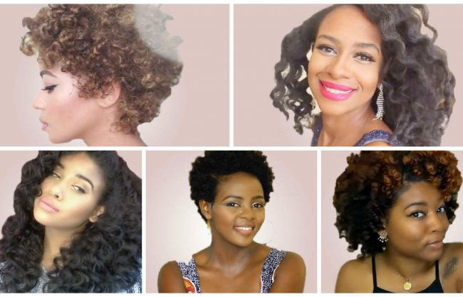 Bantu Knot Outs on Different Textures and Lengths
