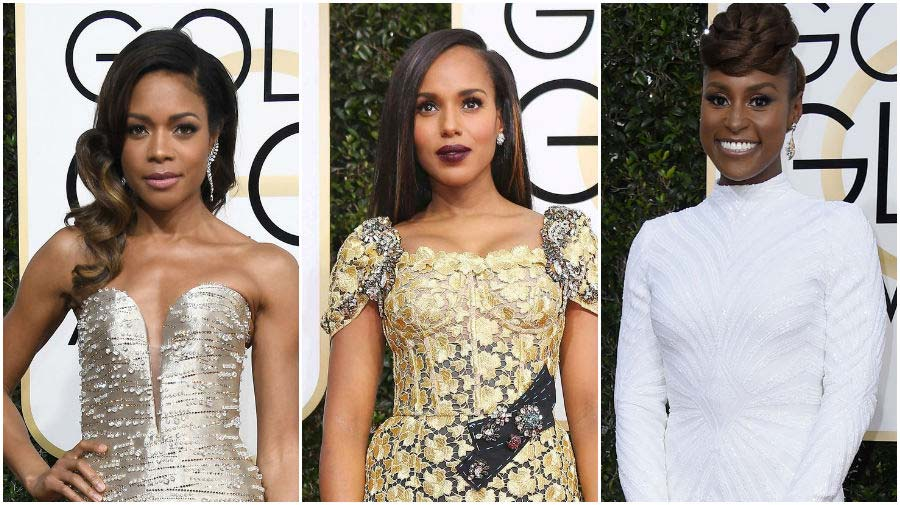 Our Favorite Hairstyles on the 2017 Golden Globes Red Carpet