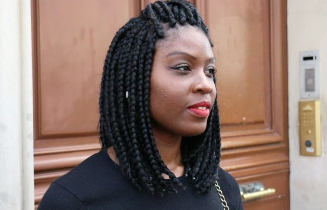 Medium Length Box Braids in Paris | On the Street