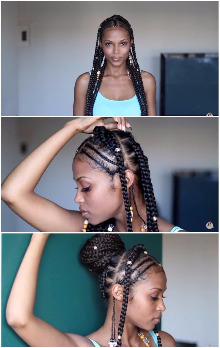Fulani Braids Braids With Beads Everything You Need To Know Un Ruly