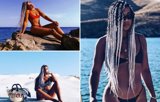 Hannah Bronfman Goes Platinum With Braids