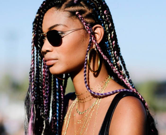 10 Stand-Out Ways to Part Your Box Braids