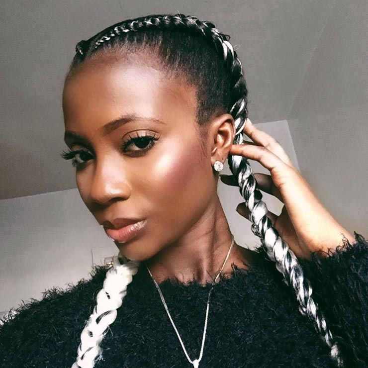 5 Ways To Wear The Two Braid Cornrow Style Everyone S Rocking Un Ruly
