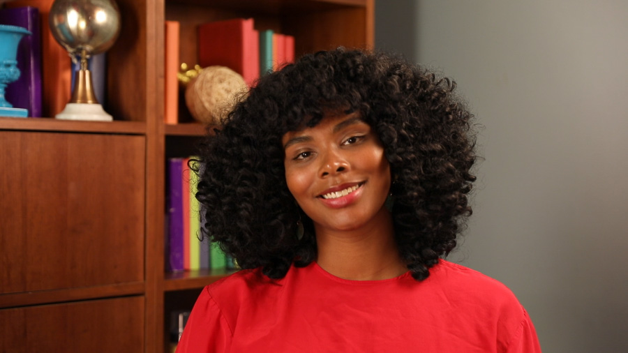 Curly Crochet Hair with Bangs, This Style is 🔥 | Un-ruly