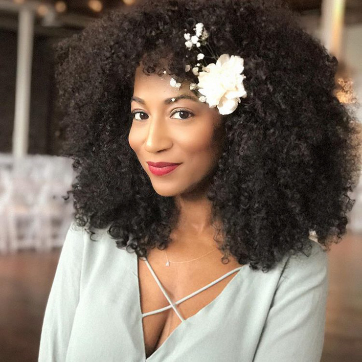 35 Wedding Styles For Natural Hair Un Ruly