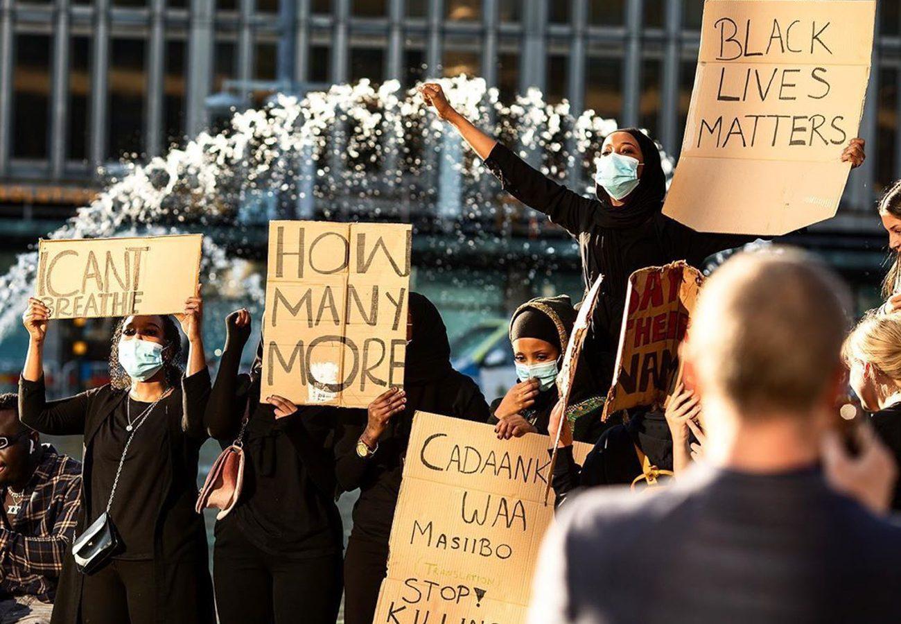 We're Not Marching Alone, #BlackLivesMatter World Wide