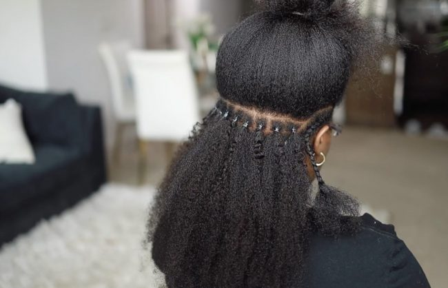 Microlinks on Black Hair, Everything You Need to Know